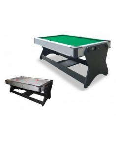 Multijuego Giratorio (Billar + Airhockey)