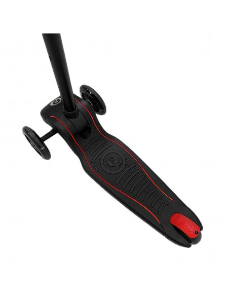 Patinete Future Scooter Rojo de Qplay con Luces Led