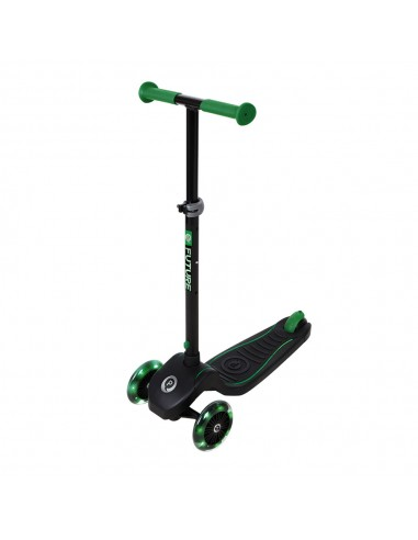 Patinete Future Scooter Verde de Qplay con Luces Led