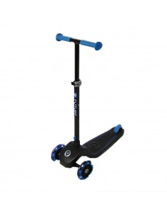 Patinete Future Scooter Azul de Qplay con Luces Led